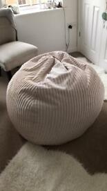 Extra Large Bean Bag - Used twice - Like New