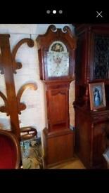 Victorian 30 hour long case clock