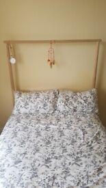 IKEA Birch double bed