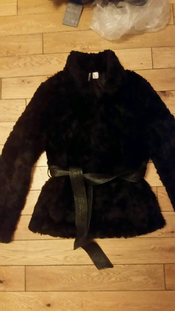 28ea69753c6 Black Fur Coat H&M - Tradingbasis