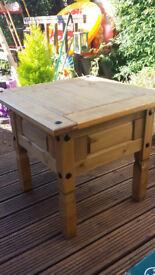 Corona pine small table.