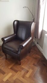 Heart Of House Argyll leather chair