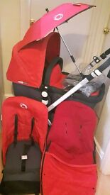 Bugaboo Cameleon 2. with footmuff, parasol, raincover