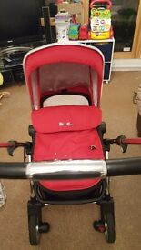 Silver Cross wayfarer travel system. second hand. good condition.