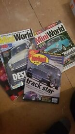 Classic mini magazines, miniworld and mini magazine, ideal for reference,