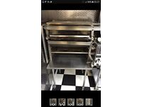 Commercial burger king grill with convey belt
