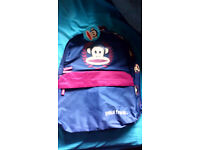 Brand new with tags Paul Frank navy backpack