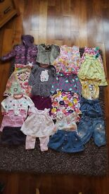 Baby girl clothes bundle 12 - 18 months