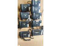 AASTRA Telehones System (Intelligate plus nine phones )