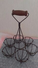 Egg Wire Basket/ Stand