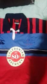 Rugby Glasgow Edinburgh jersey polo XXL size - new