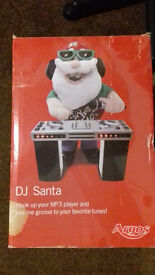 DJ Santa Christmas Decoration