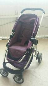 I candy pushchair with carry cot