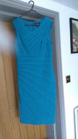 Ladies blue dress size 10 Adrianna Papell