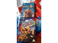 Scooby doo DVD's