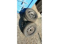 4 wheels and Tyres off Peugeot 206 1.9d