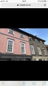 1 bedroom flat to let Brecon