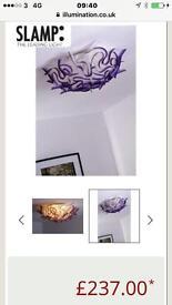 Stunning brand new designer ceiling light Lilac