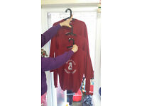 3 RATHCOOLE PRIMARY School UNIFORM SWEATERS, JUMPERS boy&girl, 3 (two Small, one Medium) £12 for all