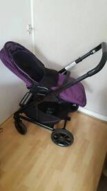 Joie chrome pram / pushchair