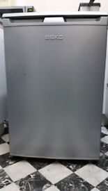 Fridge silver under counter size, free