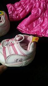 Sketchers buff jacket and trainers for build a bear 5 for both x
