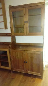 Pine waxed dresser - suitable for kitchen, dining room or living room