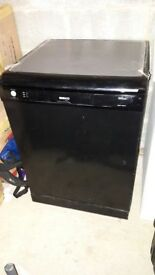 Black Beko Dishwasher, used, excellent condition