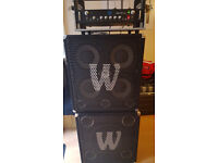 Warwick Pro Fet 5.1 Bass Guitar Head / Amplifier / Amp and Cabinets