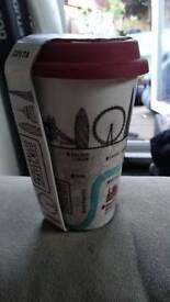 Costa Coffee Double Walled Coffee Mug