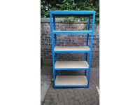 3x Garage Storage Shelves/Racks