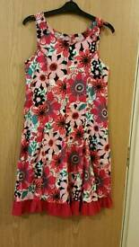 8 year Milkshake flower dress