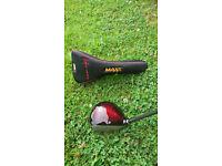 Wilson 'Deep Red II MAXX' Driver - Grafalloy shaft
