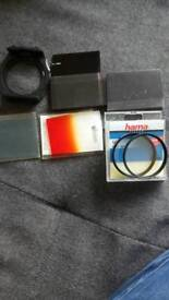 Cokin filters plus holder mont plus uv filters