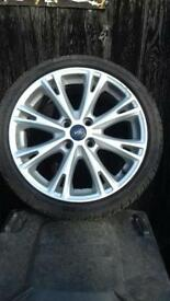 Ford Fiesta Zetec S 2013- Four alloy wheels