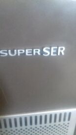 superser calor gas heater with bottle
