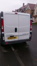 Vivaro White panel van,very good condition drive with no fault,low milage,mot with no advisors