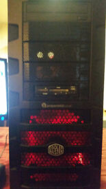 PC CASE TOWER COOLER MASTER HAF WITH DVD ROOM