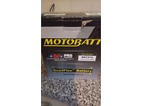 Motorbike battery plug and play brand new in box never used