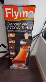 Brand New Boxed Flymo Leaf Blower Garden Vac 2700W