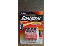 Energizer Max Power Seal AAA No Leaks 10x 4 pack