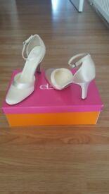 Wedding/bridal shoes size 3