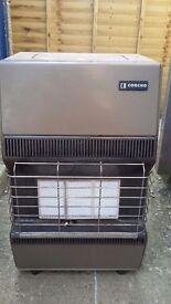 Gas heater cabinet heater bottle gas