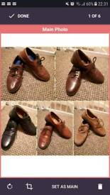 Men's shoes size 8 (buy 2 for £4)