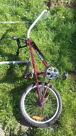 trailer bike in good condition