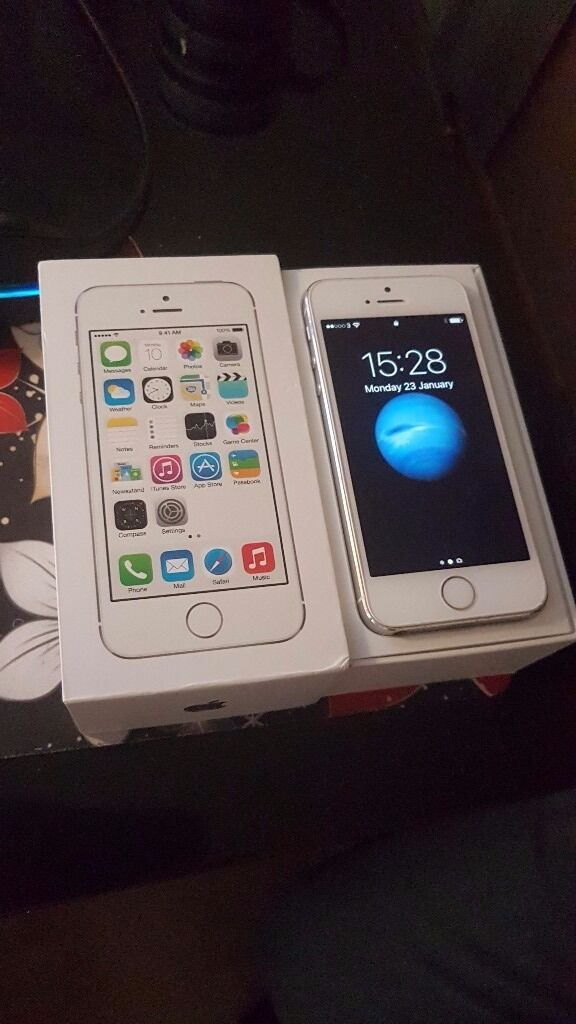IPHONE 5S MINT CONDITIONin Bexley, LondonGumtree - IF YOUR LOOKING FOR A 5 S. IN MINT CONDITION DONT LOOK NO FURTHER. ITS IN ITS ORIGINAL BOX WITH ORIGINAL CHARGER AND OWNERS MANUAL. RESET READY TO GO. NO SWAPS NO SILLY OFFERS. AND COLLECTION ONLY