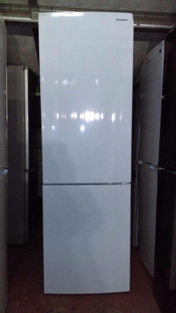 Sharp Frost free 60/40 fridge freezer new ex display
