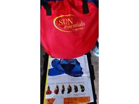Nscessity pop up travel cot in bag