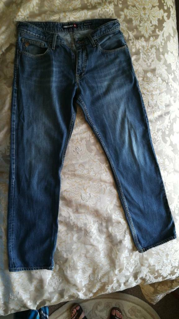 Quicksilver jeans - 33 waist and 32 leg
