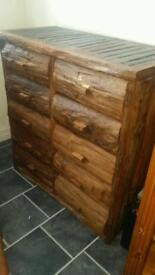 Large bespoke solid wood drawers
